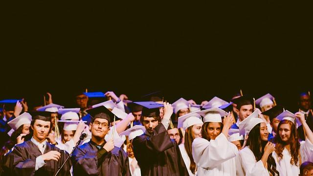 graduates in hats