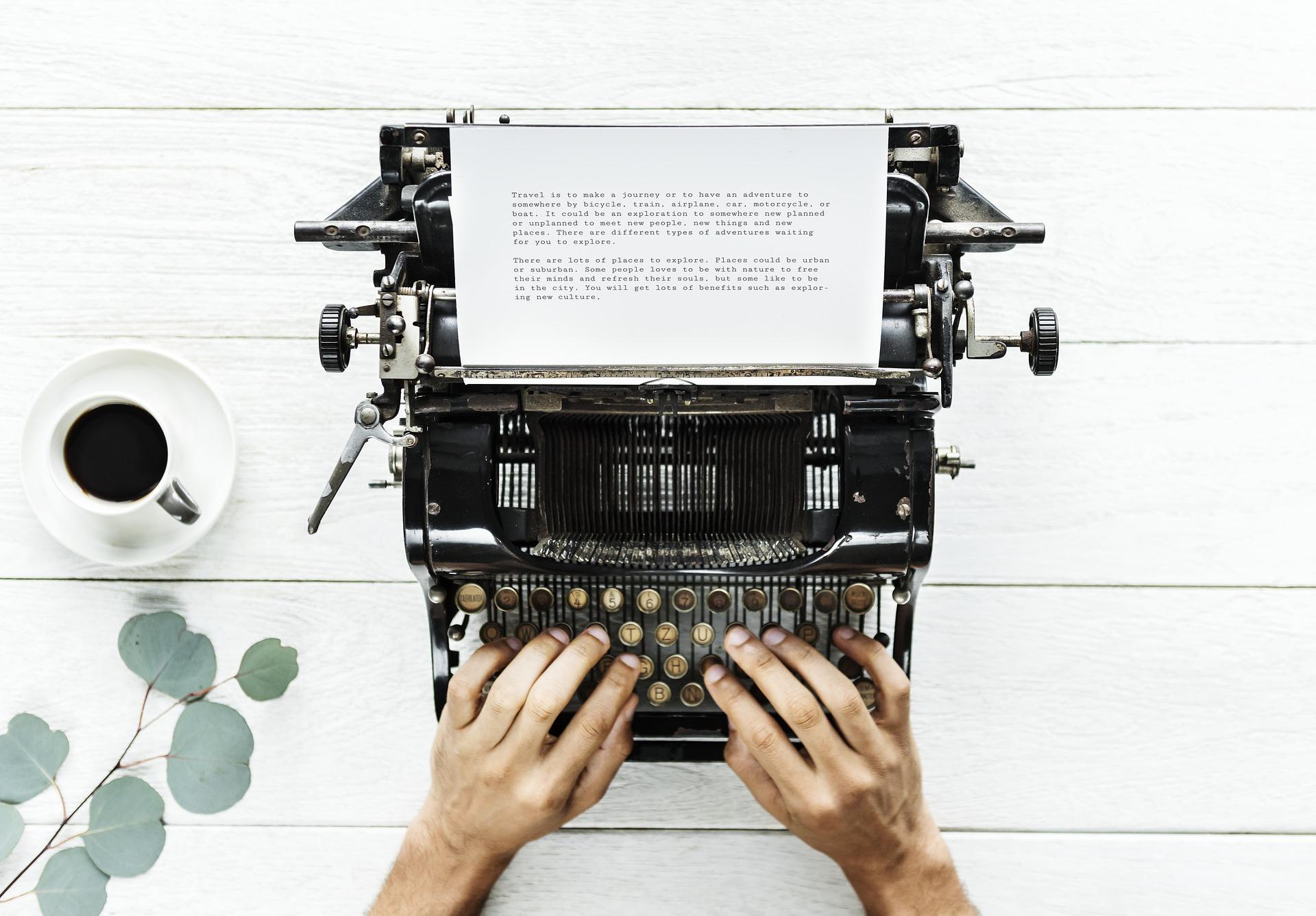 write CV introduction