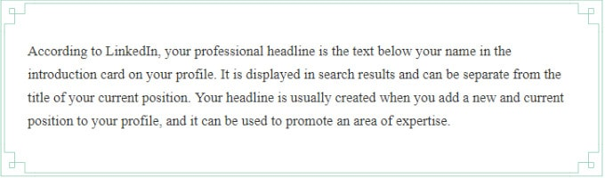 How To Write The Perfect LinkedIn Headline For Your Profile
